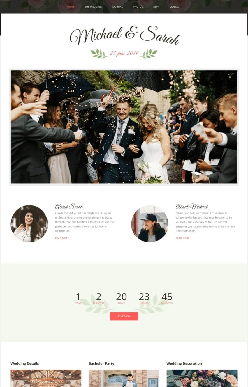 marriage-theme-wordpress