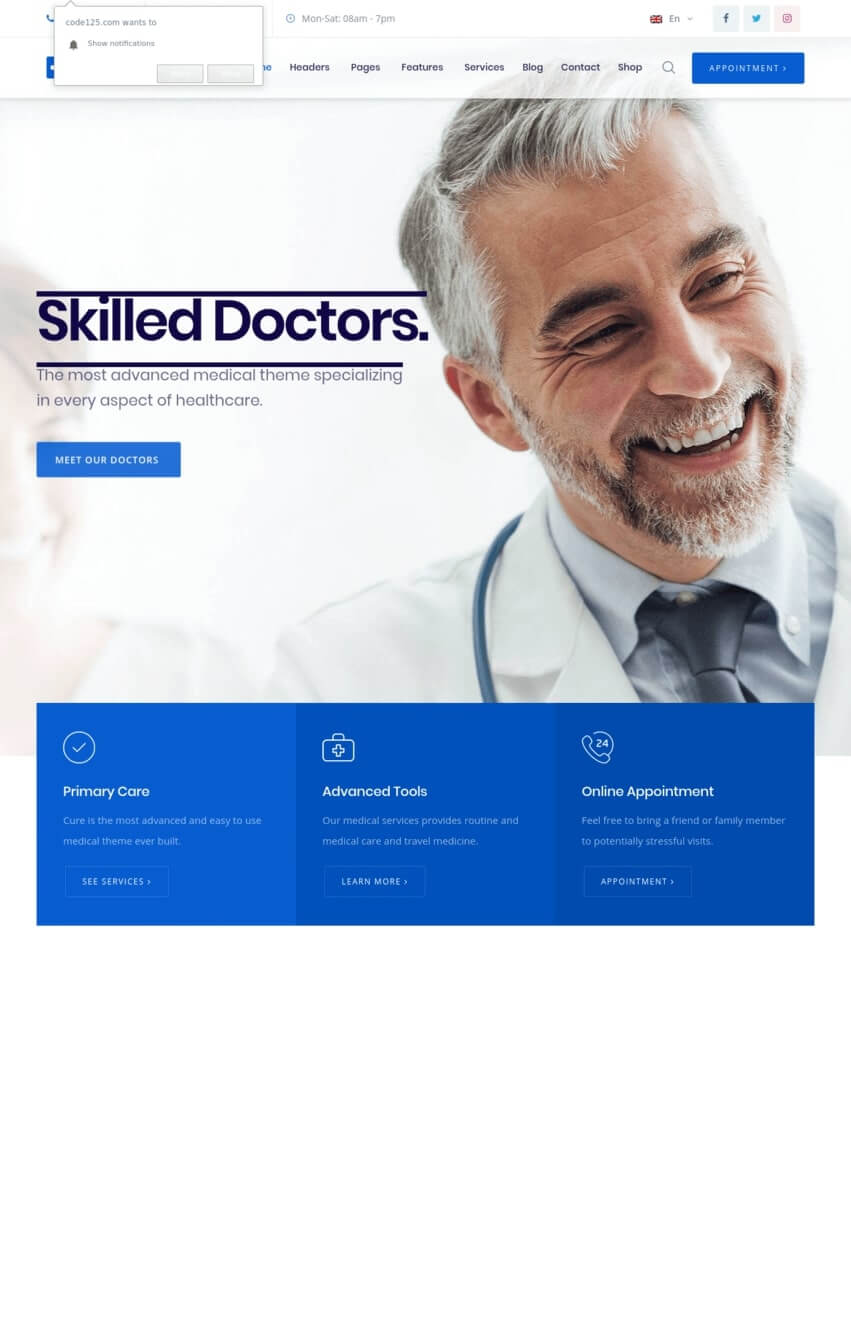 medicalcure-theme-wordpress-sante