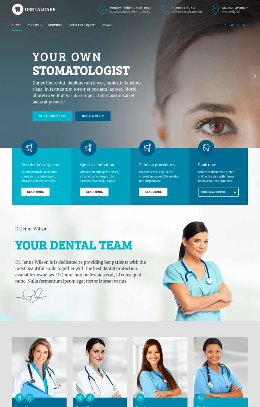 medicare-theme-wordpress-sante
