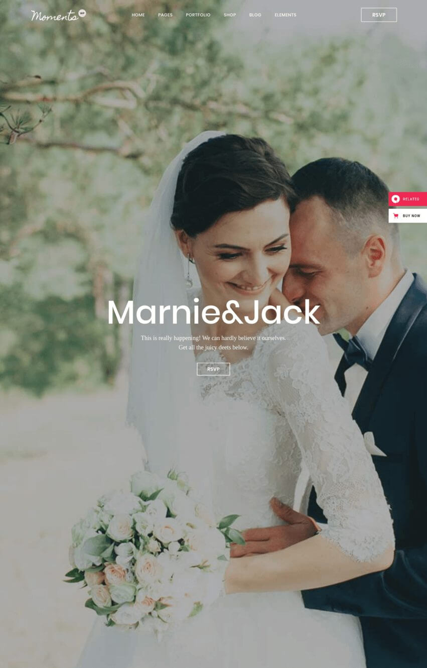 moments-theme-wordpress-mariage