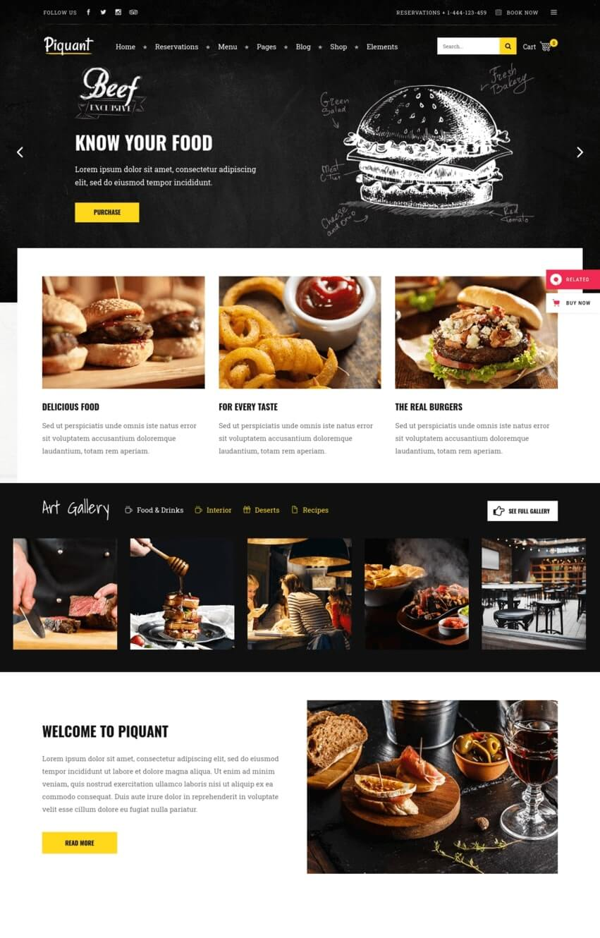 piquant-theme-wordpress-restaurant