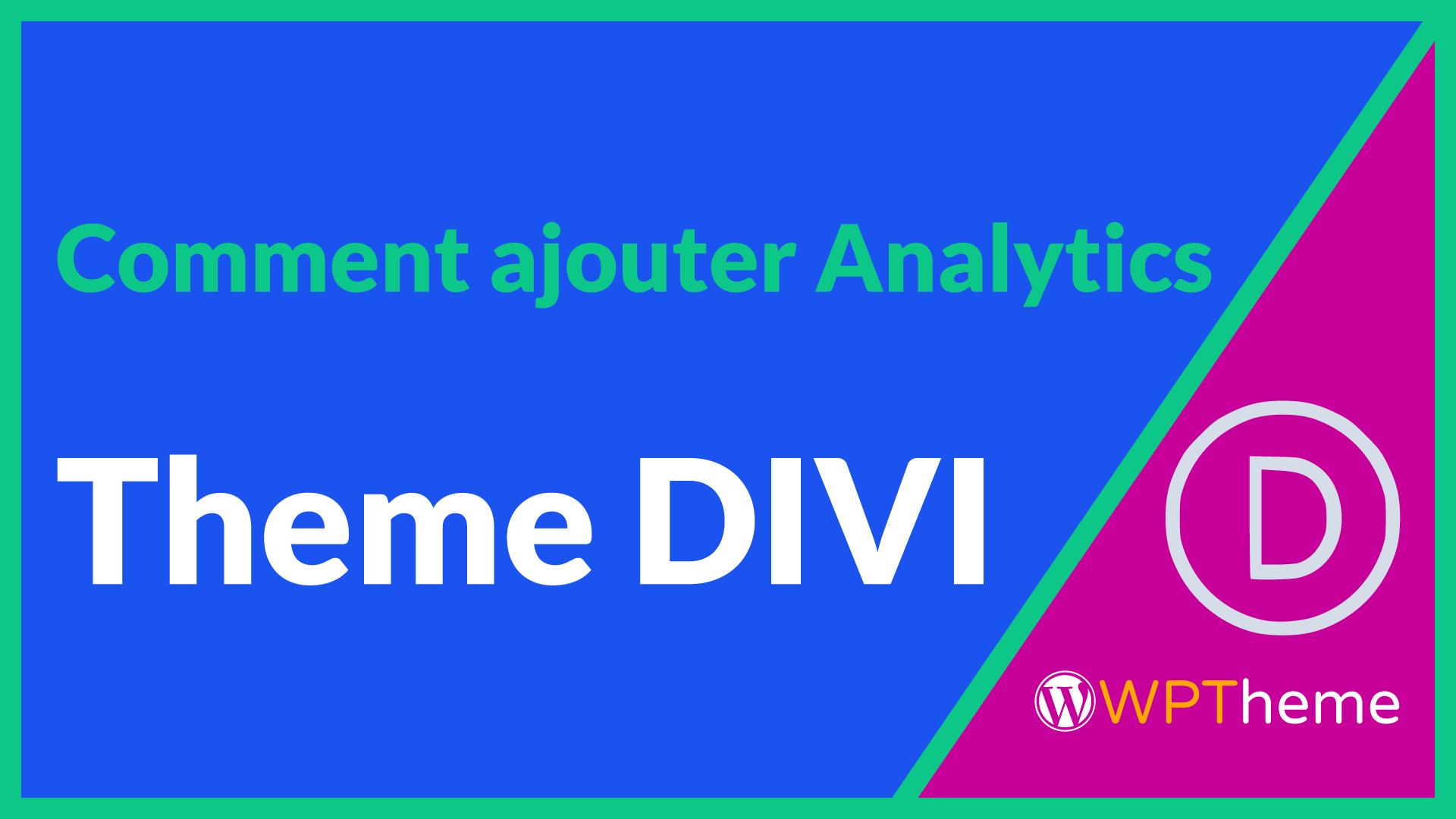google-analytics-theme-divi